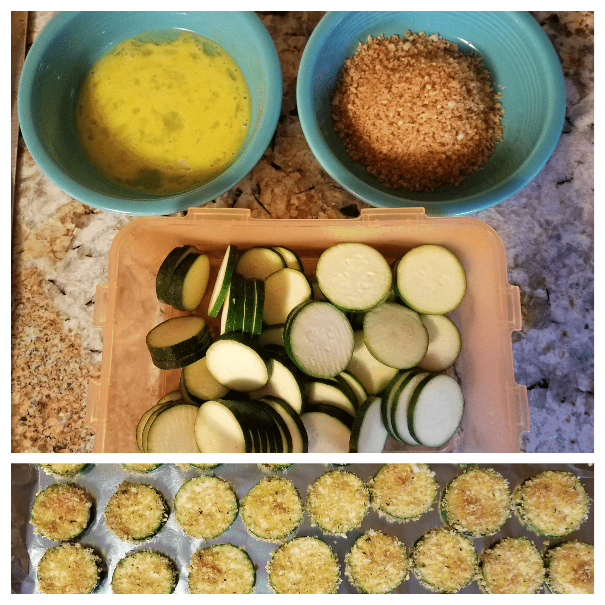 Breaded Zucchini Chips