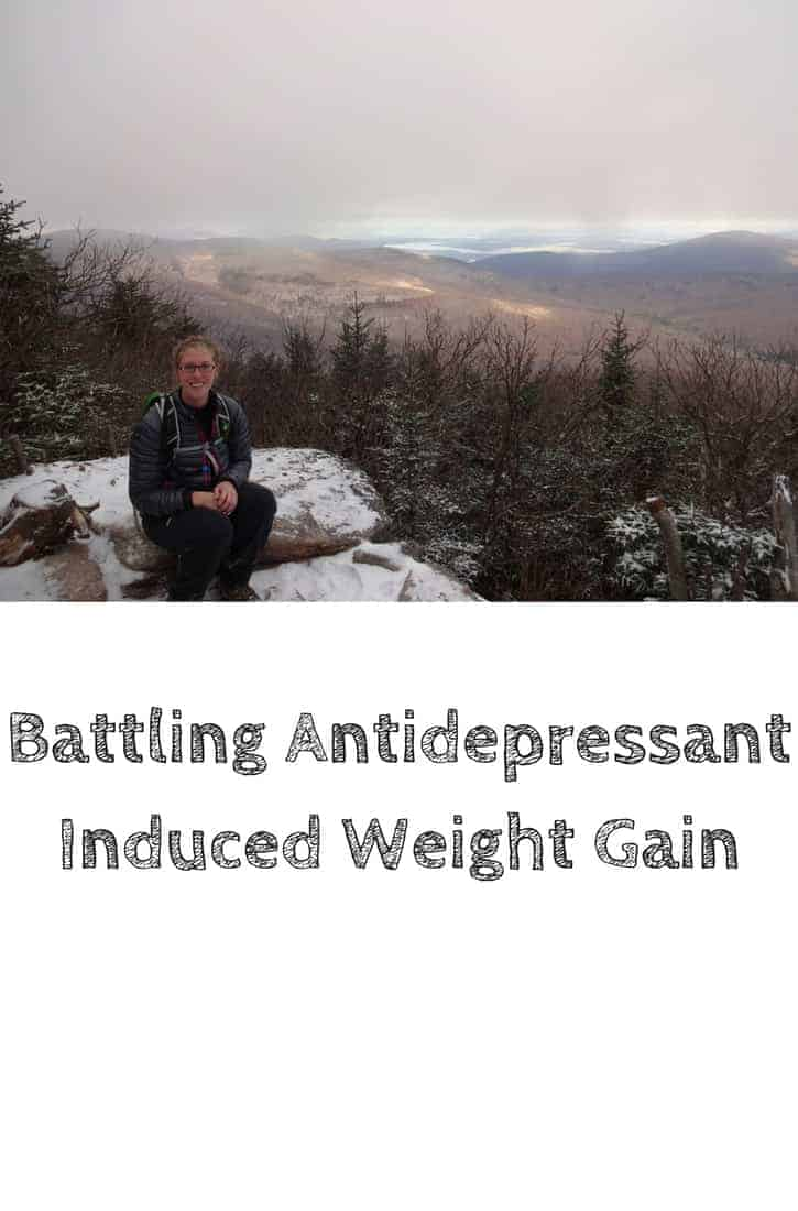 Antidepressant induced weight gain is an understated side effect. A quick look through the scientific literature shows that nearly all antidepressants cause weight gain. However, antidepressants are often a life saver for many people. This post gives tips on how to manage and curtail weight gain. #thepanickedfoodie #antidepressants #antidepressantssideeffects #antidepressantstruths #antidepressantsgettingoff #antidepressantsweightgain #weightgain