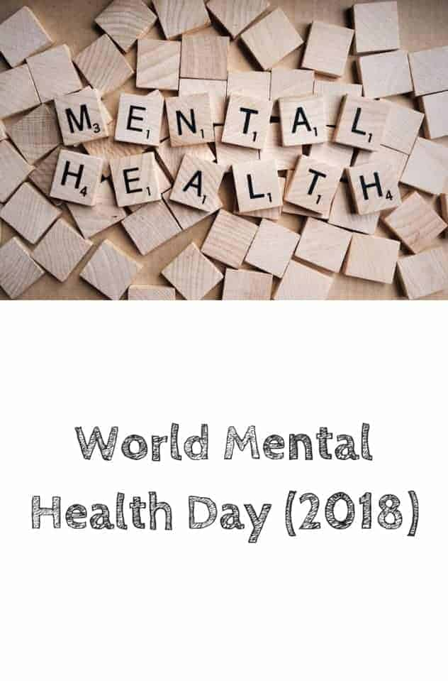 The words mental health are spelled out with scrabble tiles. The background consists of blank scrabble tiles. This is the designated pinterest pin.