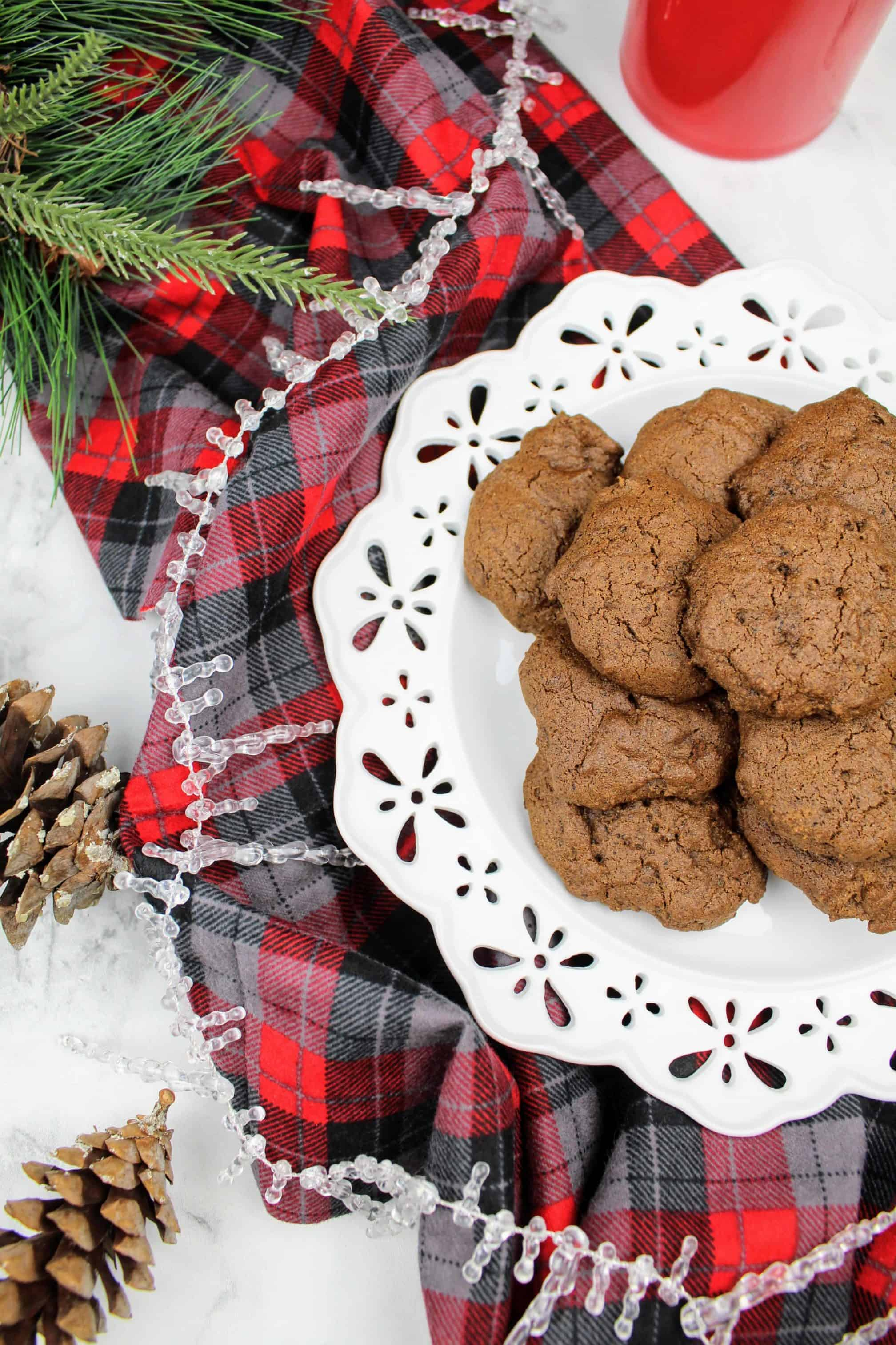 Chewy Molasses Cookies {Vegan, Gluten-Free}