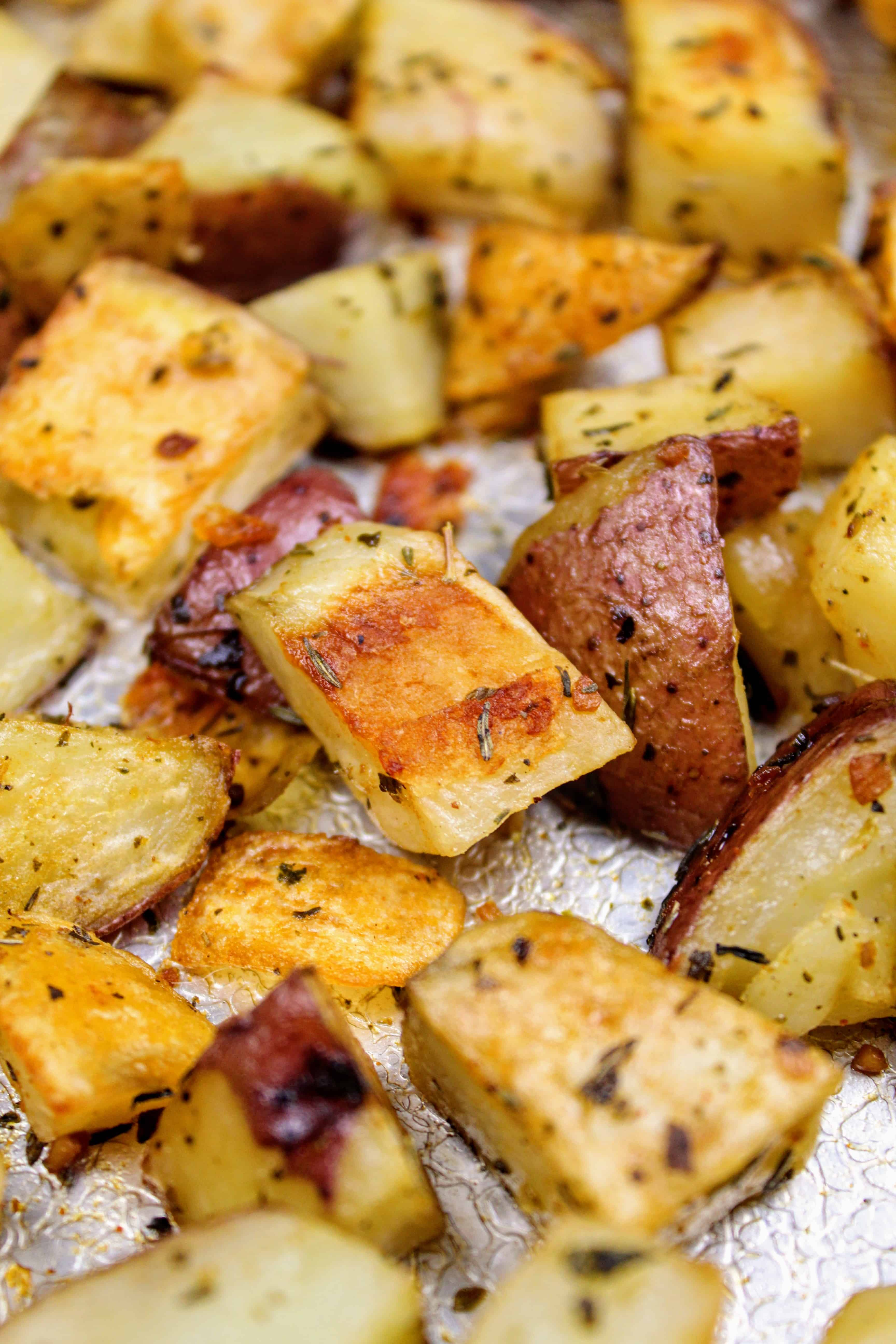 Roasted Herb Red Potatoes