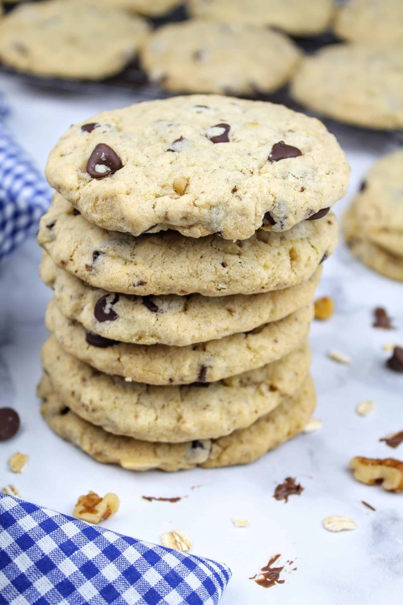 Vegan DoubleTree Chocolate Chip Cookies