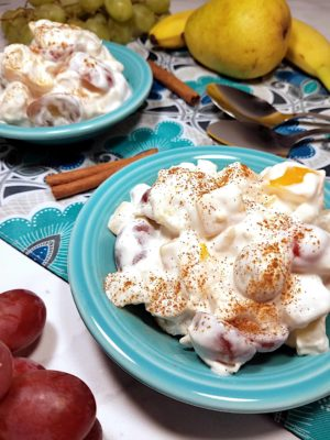Whipped Cream Fruit Salad